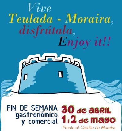 Fin de semana gastronómico y comercial en Moraira