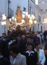Fiestas en Benitatxell en honor a la Virgen de la Rosa