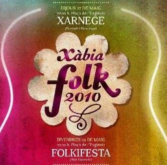 Fiestas Jávea Xàbia Folk 2010