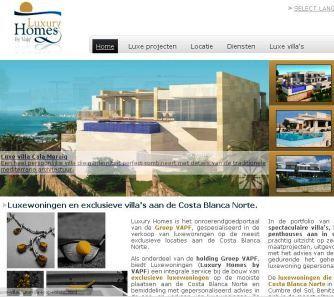Luxury Homes by Vapf se estrena en holandés