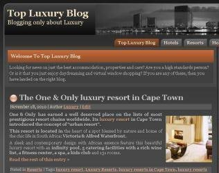 Top Luxury Blog: todo sobre el lujo