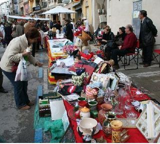 Mercado navideño en Teulada 2010