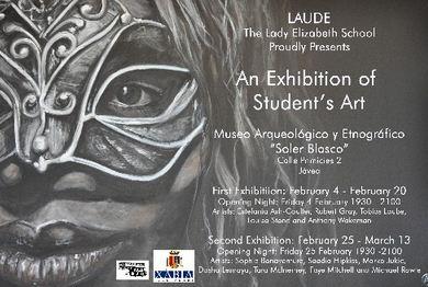Exposición del Colegio Laude The Lady Elizabeth School