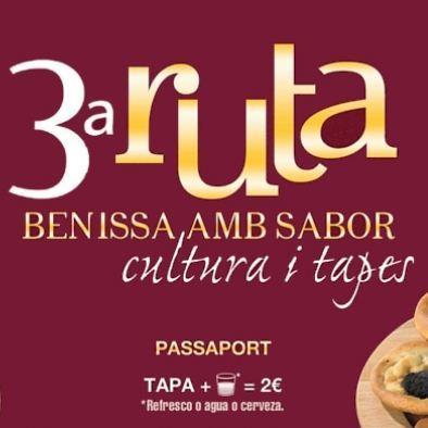 3º Ruta de la Tapa Benissa amb Sabor