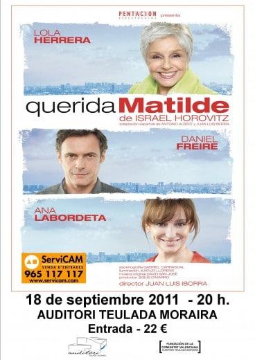 Programación Septiembre 2011 Auditorio Teulada-Moraira