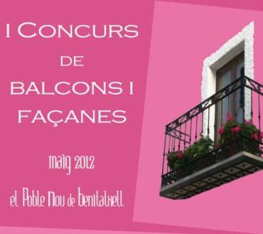 Primer concurso de balcones en Benitachell