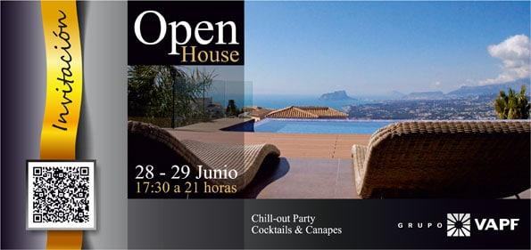 Invitación Open House Cumbre del Sol, profesionales sector inmobiliario