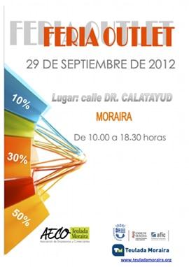 V Feria Outlet en Moraira el 29 de septiembre