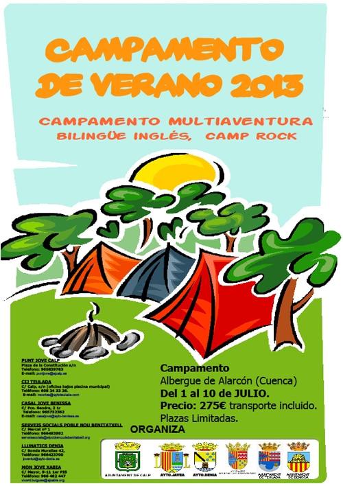 Abierto el plazo de inscripción al campamento de verano en Alarcón, Cuenca