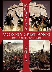 Fiestas Moros y Cristianos 2013 Moraira