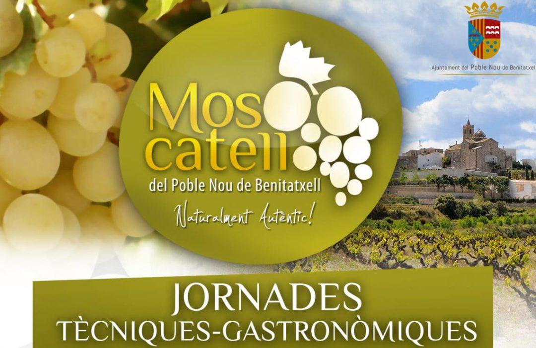 El Poble Nou de Benitatxell divulga el Moscatel en las I Jornadas técnicas y gastronómicas