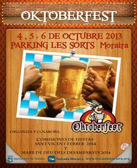 Oktoberfest en Moraira