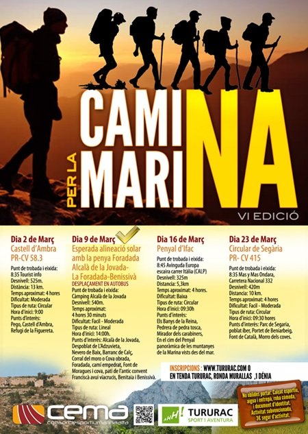 VI Edición Camina por la Marina Alta