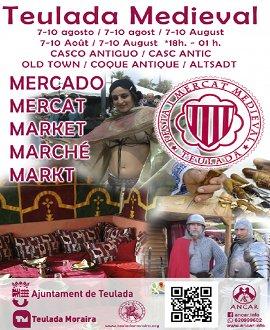 Mercado Medieval en Teulada del 7 al 11 de agosto