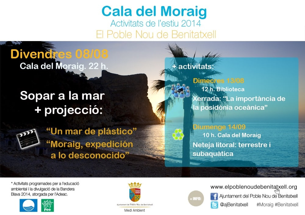 Cala Moraig Activities, August 2014