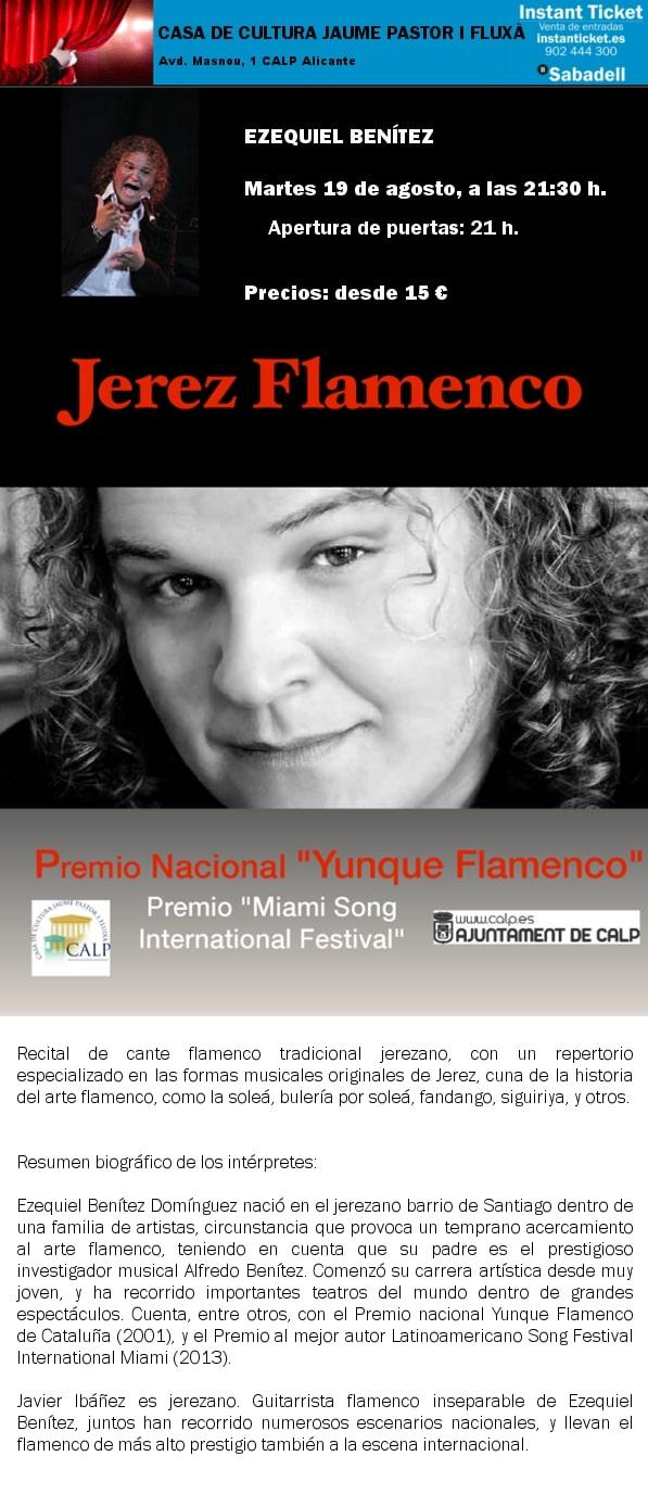 Recital de Flamenco en Calpe