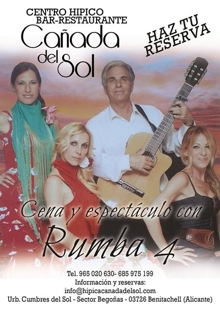 Flamenco el viernes 12 de septiembre en Cañada del Sol