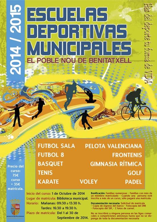 Deporte en Benitatxell: natación, padel, tenis, gimnasia rítmica