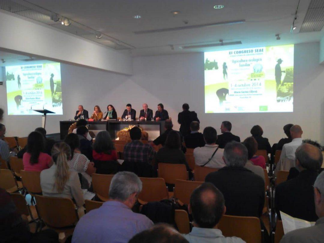 El proyecto de producción de uva de moscatel ecológica BioMoscatell, en el Congreso de Alimentación SEAE de Vitoria