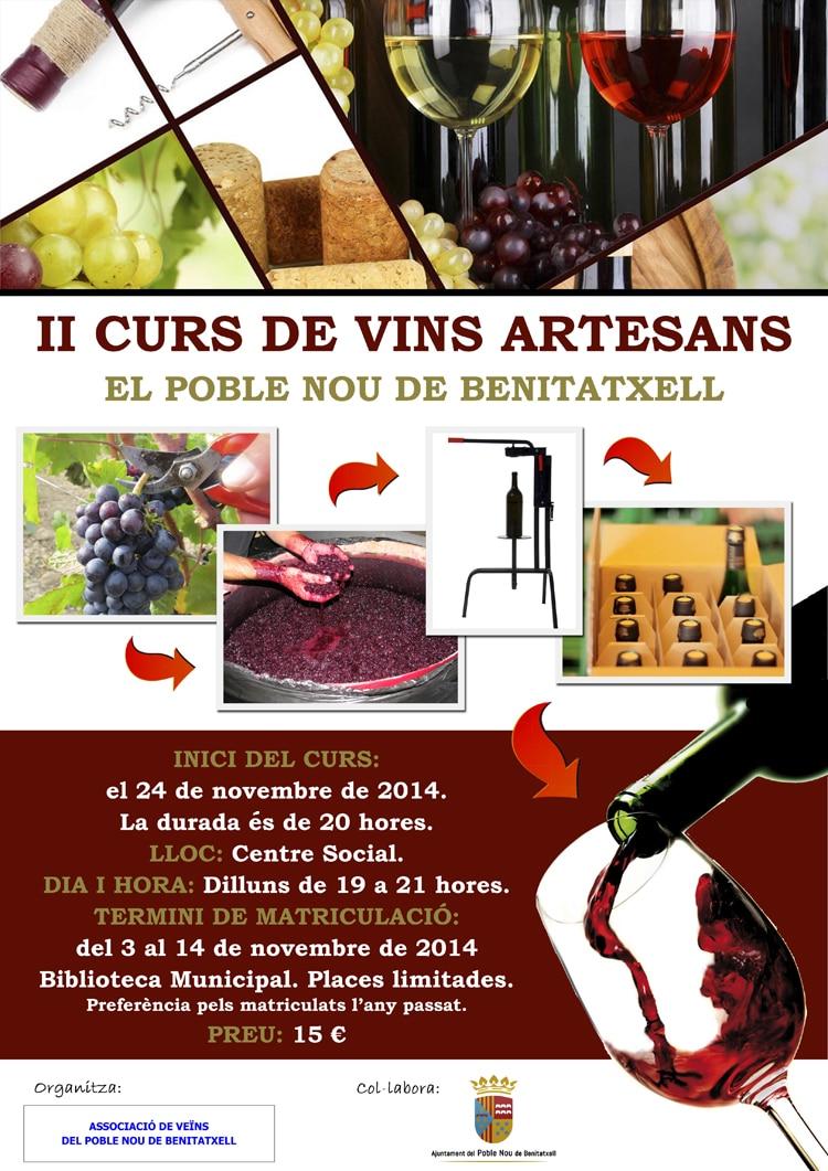 Curso de Elaboración de Vinos en Benitatxell