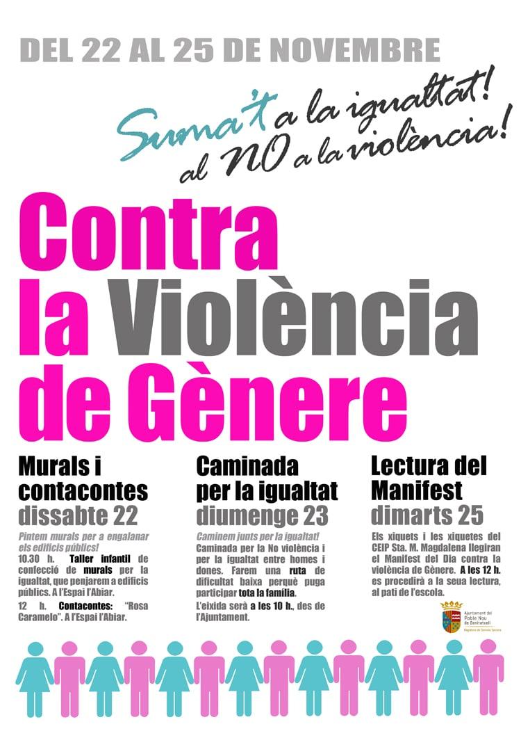 Caminata Familiar por la Igualdad y contra la violencia de género en Benitatxell