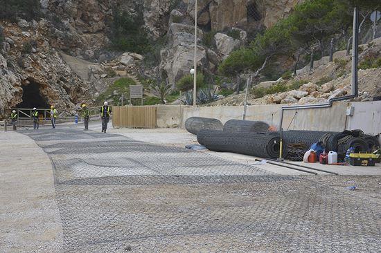Costas revisa y amplía la protección de los acantilados en la zona del Moraig