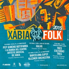 Xàbia Folk 2015 del 8 al 10 de Mayo