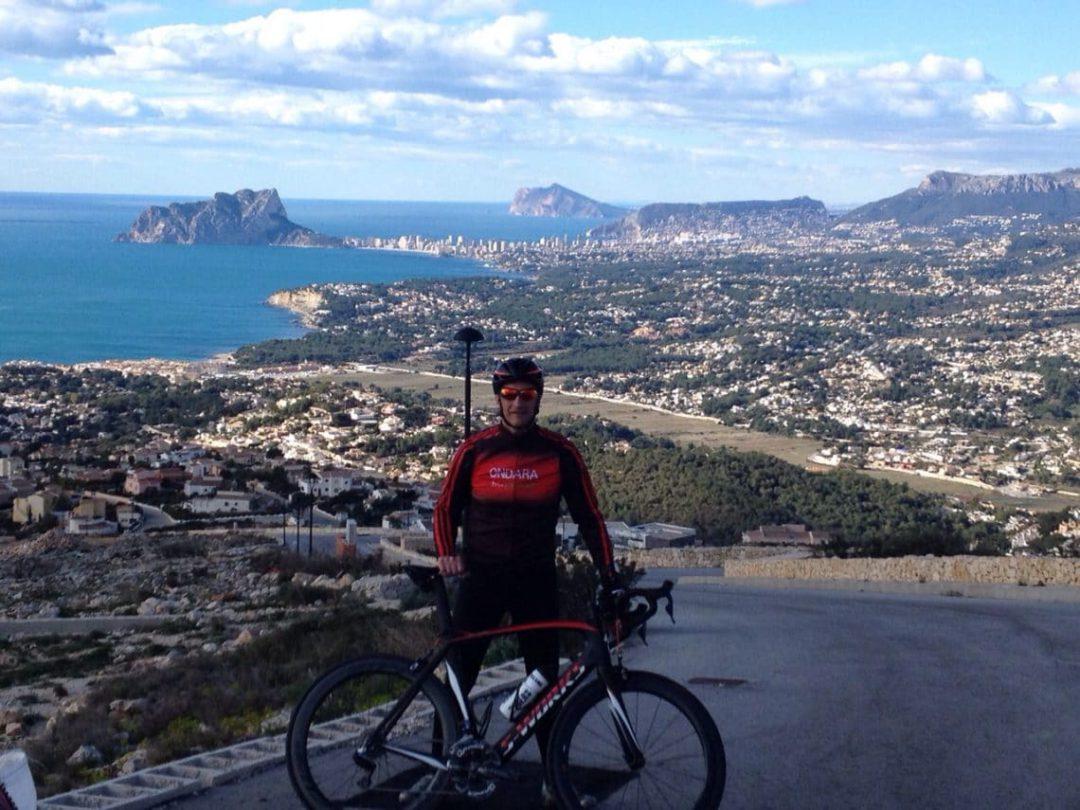 La Vuelta Ciclista en Cumbre del Sol (Poble Nou de Benitatxell)