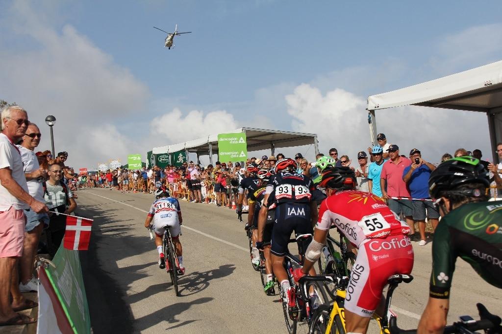 La Vuelta Ciclista en Imágenes