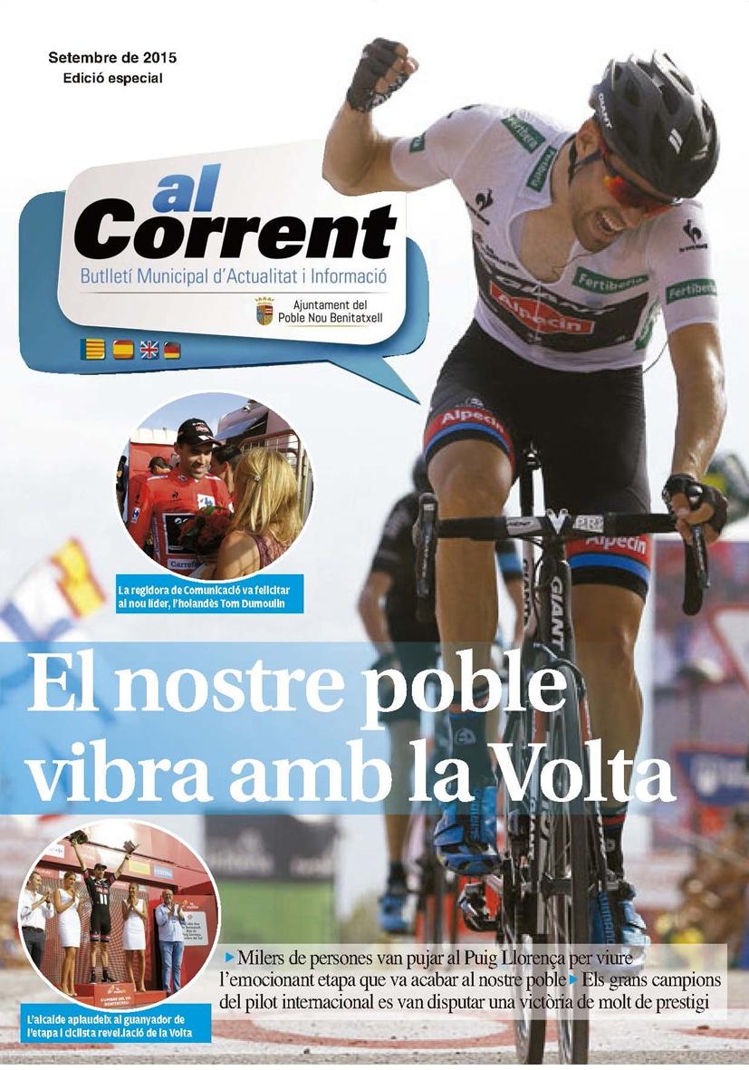 """Nueva edición revista de información de Poble Nou de Benitatxell """"Al Corrent"""""""