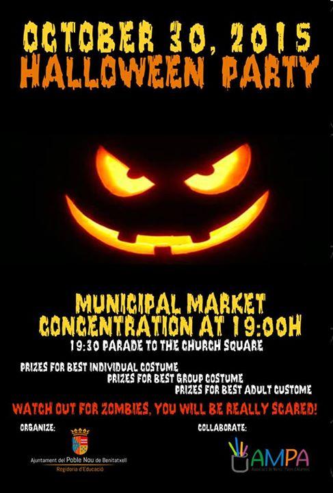 Halloween Party en Benitachell