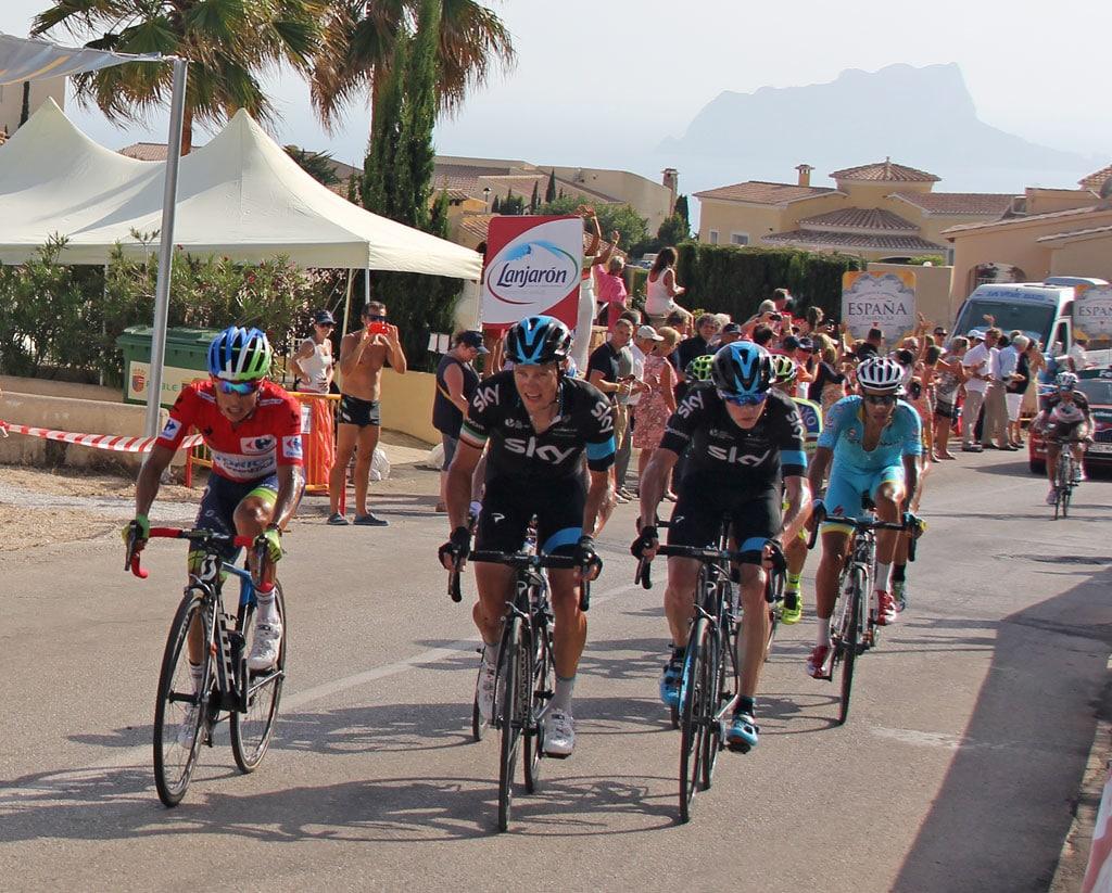 La Vuelta Ciclista España 2016 vuelve a Poble Nou de Benitatxell