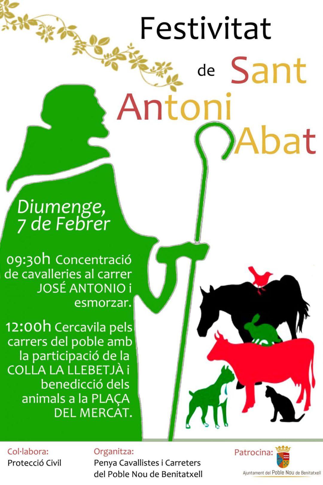 Fiestas de San Antonio Abad en Benitatxell