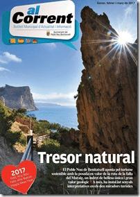 Revista con información de Poble Nou de Benitatxell