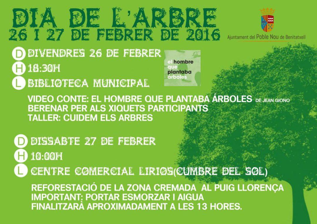 Día del árbol en Benitatxell
