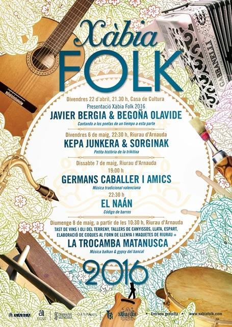 Programa Completo Xàbia Folk 2016