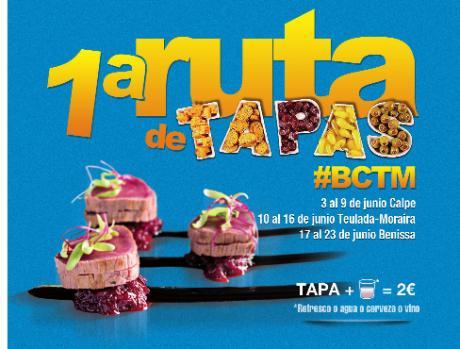 Primera ruta de tapas #BCTM
