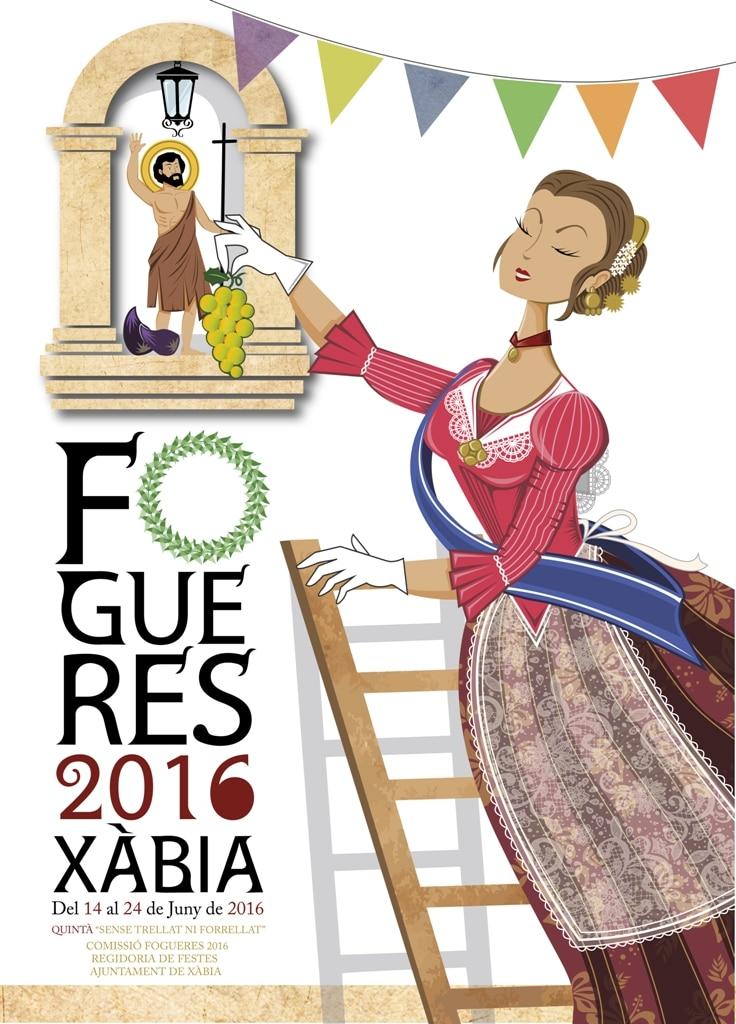 Hogueras de San Juan en Xàbia del 11 al 24 de Junio