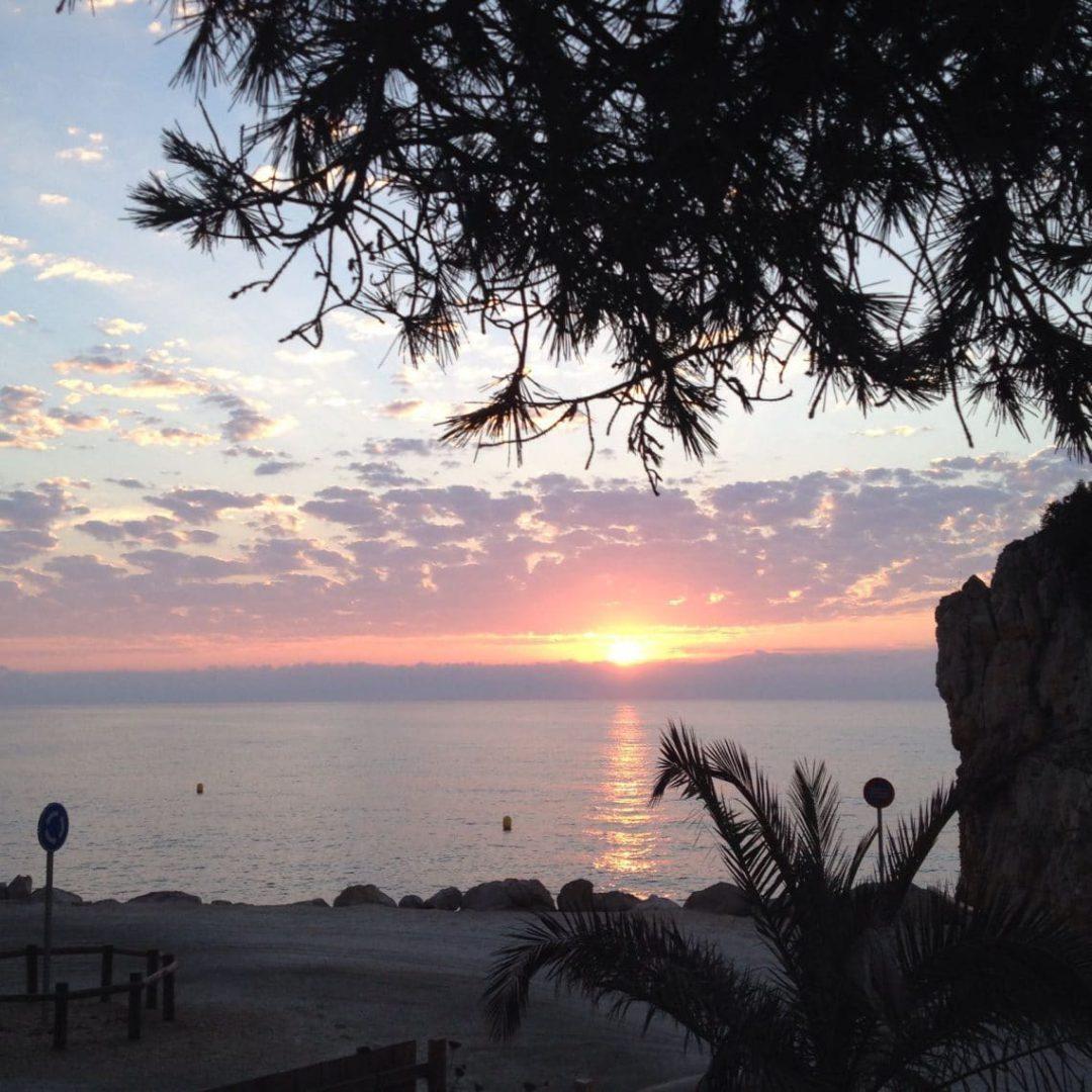 Maravilloso amanecer en Cumbre del Sol