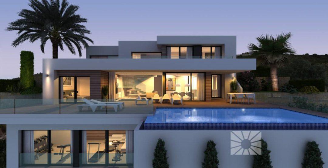 Villa Bahía, una villa con un diseño único