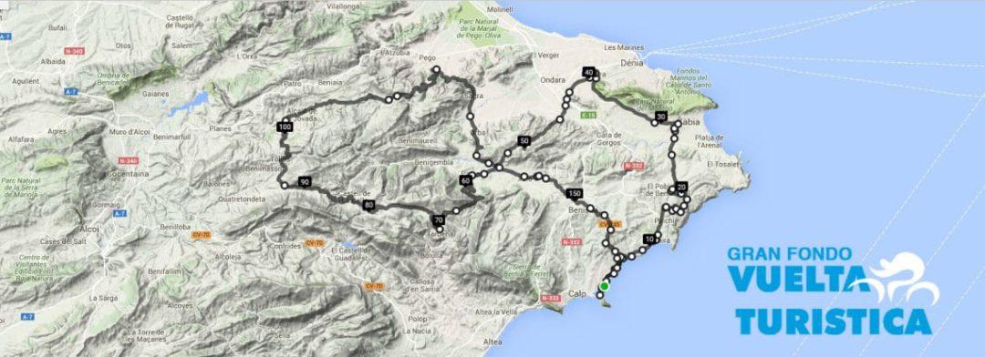 Participa en la prueba ciclista Gran Fondo Vuelta Turística 2016