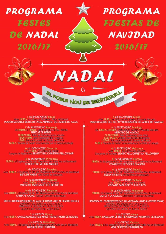 Mercado de Navidad en Benitatxell el domingo 11 de diciembre