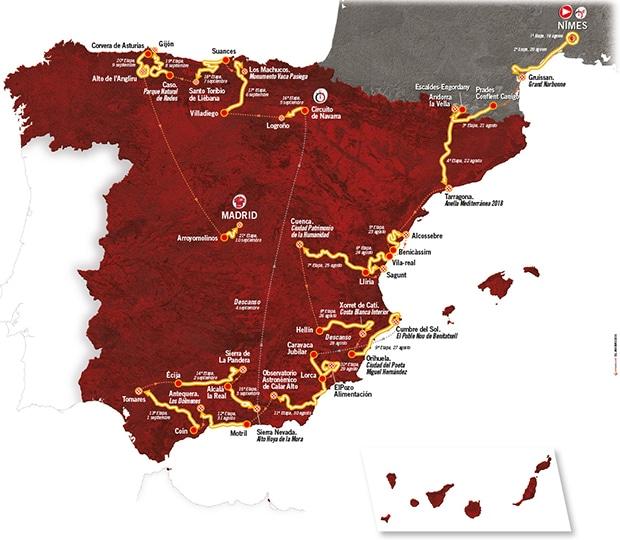 La Vuelta Ciclista a España 2017 vuelve a Cumbre del Sol