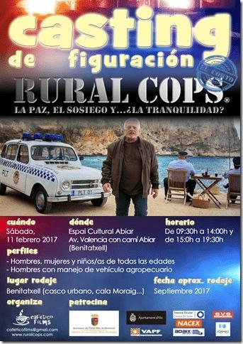 Casting Película Rural Cops en Benitatxell