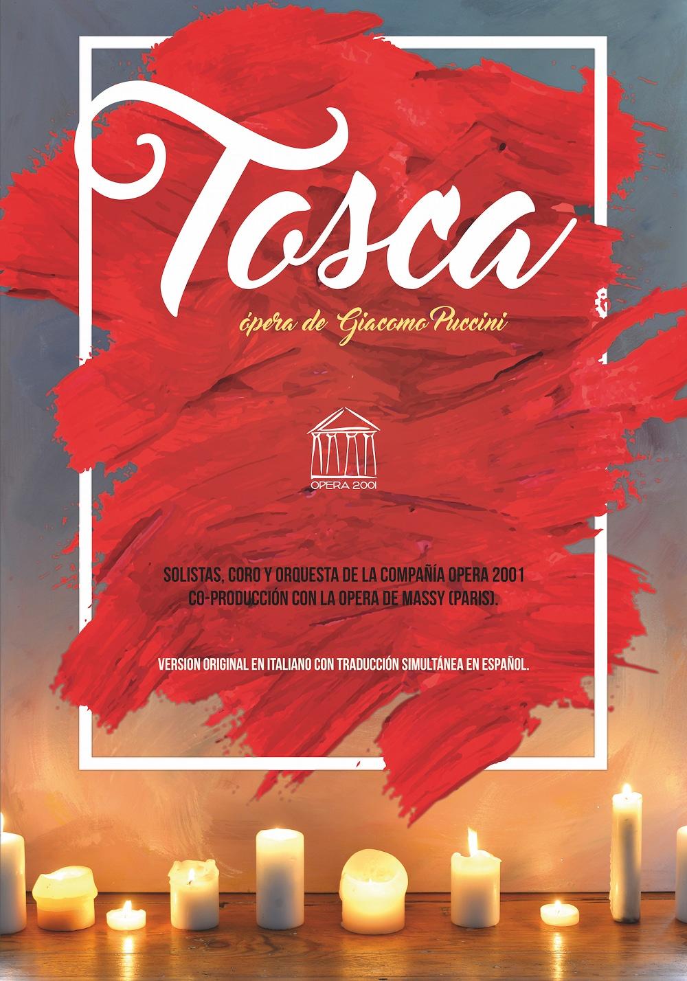 La ópera Tosca de Puccini en el Auditori Teulada-Moraira
