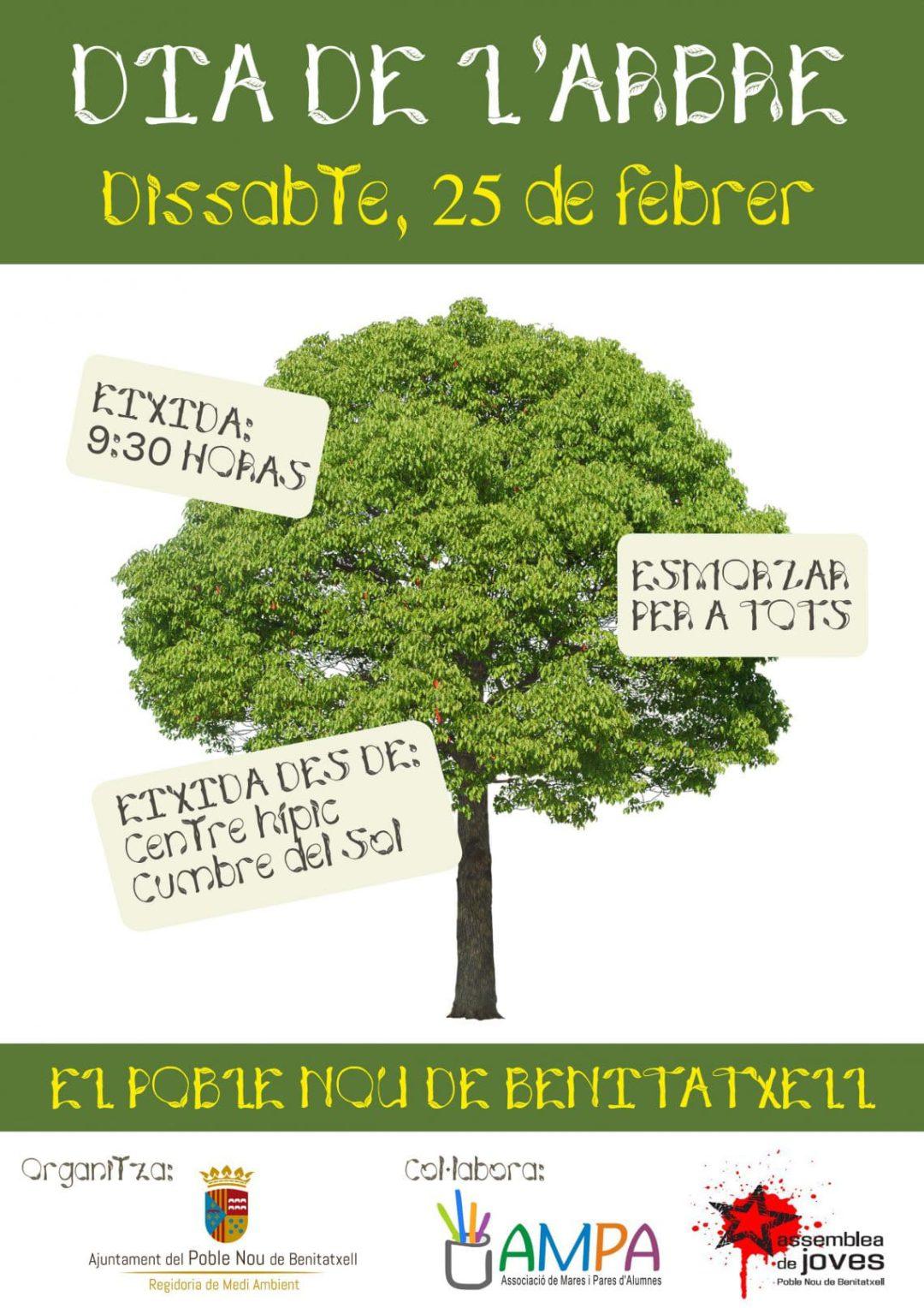 Día del árbol en Benitatxell- Sábado 25 de febrero 2017