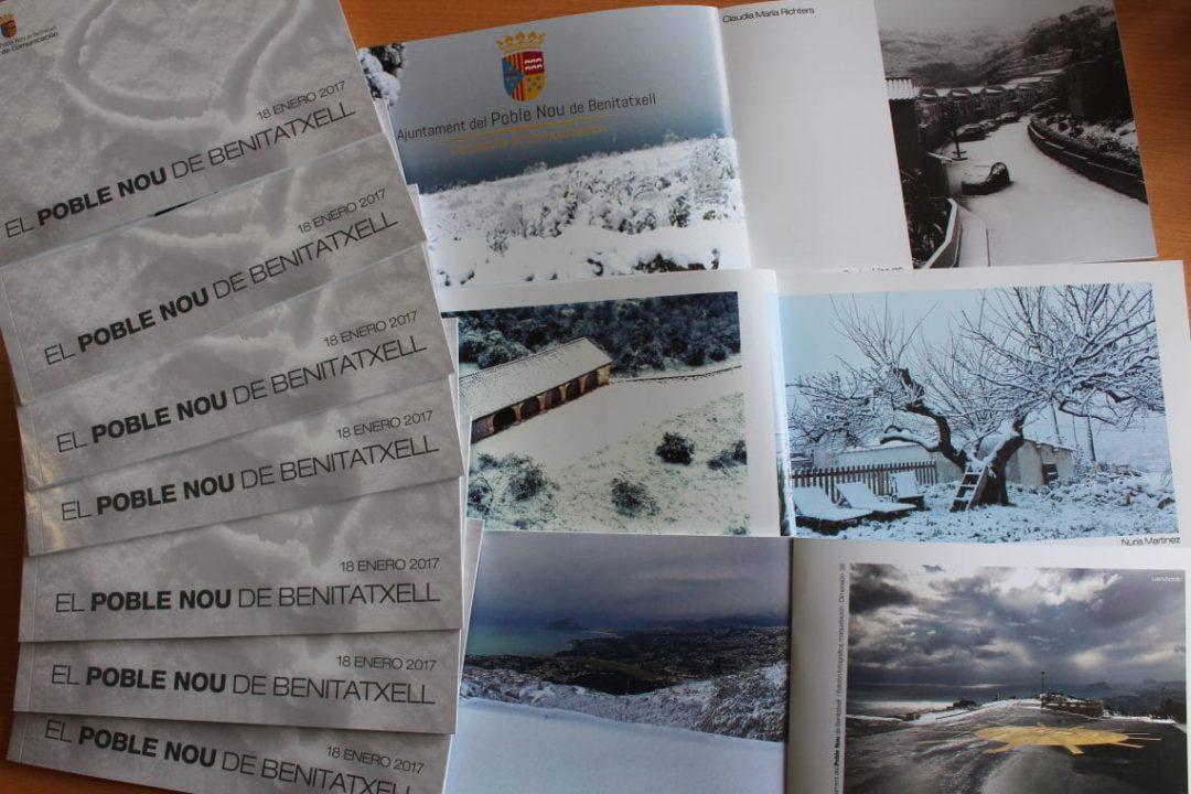 Libro fotográfico fotos de la nevada del pasado 18 de enero de 2017