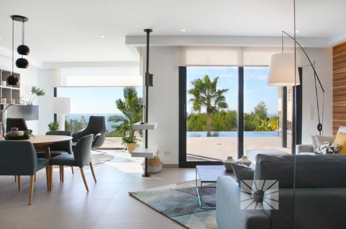 Villa a la venta en Cumbre del Sol, recién finalizada, totalmente amueblada