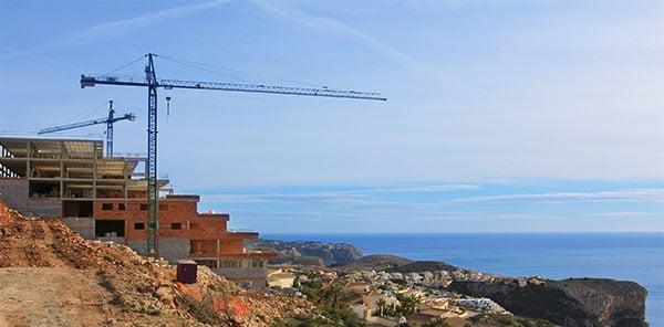 Baufortschritt der Blue Infinity Luxury Residences