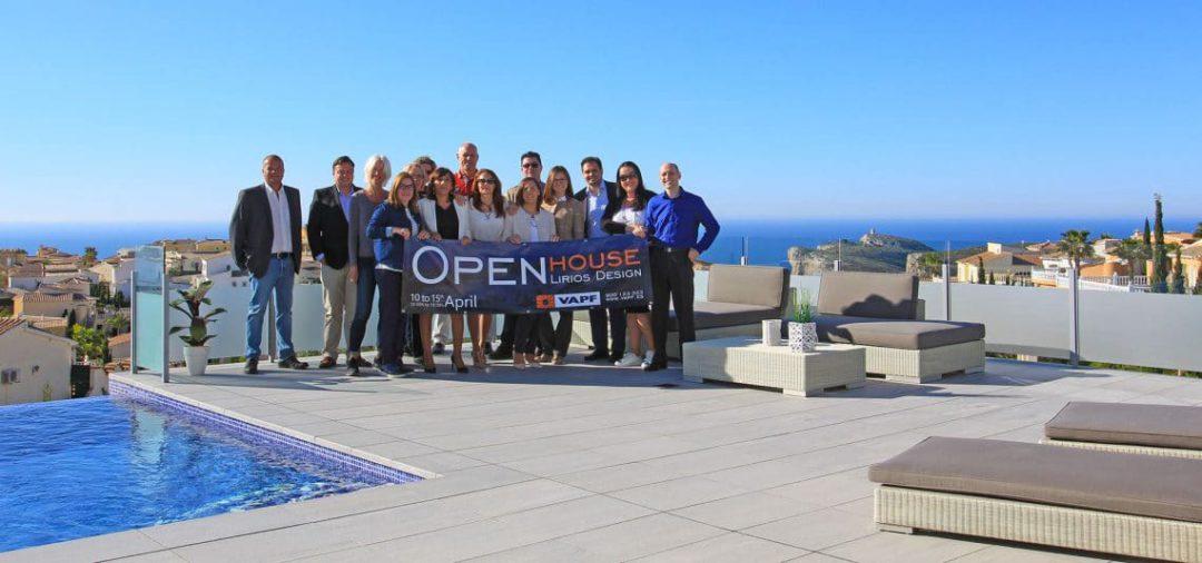 Open House Lirios Design: ein voller Erfolg
